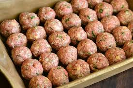 Italian Meatballs 8 ea. approximately 1.25#