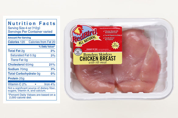 Red Bird Chicken Breast  1#  NEW LOW PRICE!