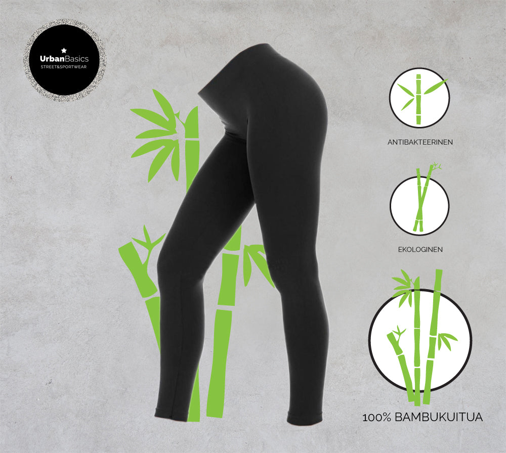 Natural Bamboo -leggingsit