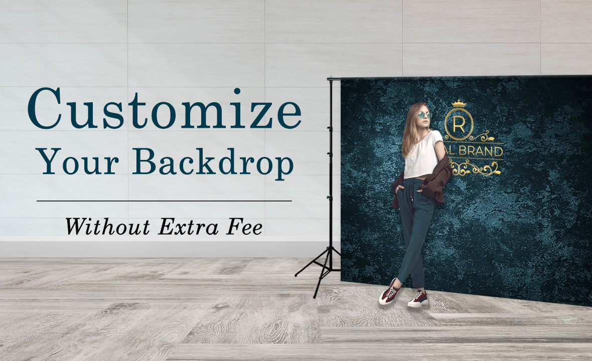 Customize the backdrops