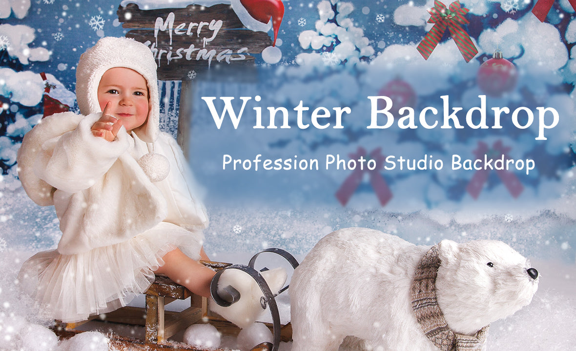 Winter backdrops