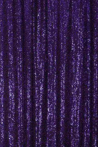 Purple Sequin Farbic Backdrop for Party Wedding Decoration D22