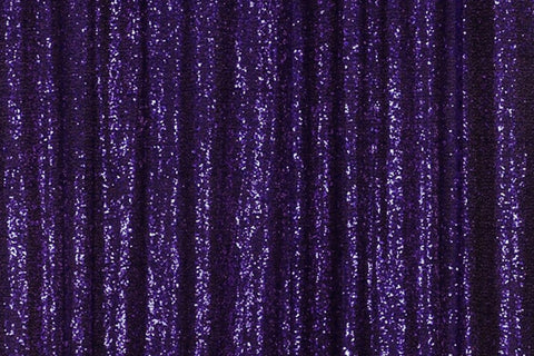 Purple Sequin Farbic Backdrop for Party Wedding Decoration D7