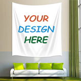 Personalized Customize Image Tapestry Wall Hanging for Living Room Bedroom Dorm Decor T1