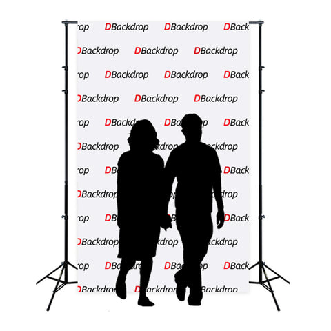 Step & Repeat Logo and text Kit - 8'W x 10'H DBD-KIT-PCK-810-2T
