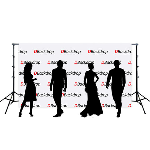 Custom Step & Repeat Logo Prersonized Photo Banner