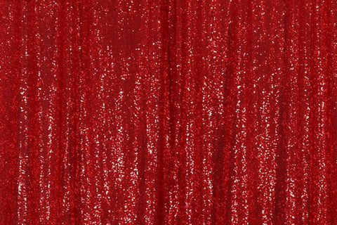 Red Sequin Farbic Backdrop for Photography  D2