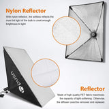 "Professional Softbox Lighting Kit 20""X28"" Reflector for Studio Photography  BP1690"