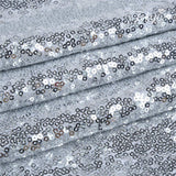 Slivery Sequin Farbic Backdrop for Party Prom Wedding Decorations SE-2