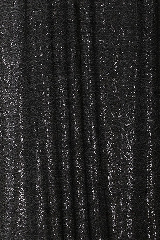 Black Sequin Farbic Backdrop for Party Wedding Decoration D20