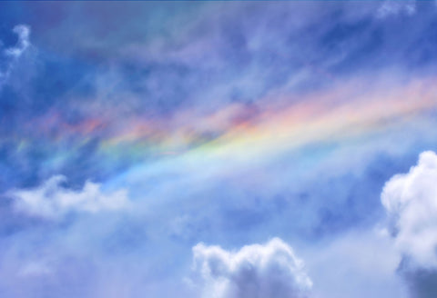 Beautiful Sky Rainbow Backdrop Designed by Beth Hrachovina Photography