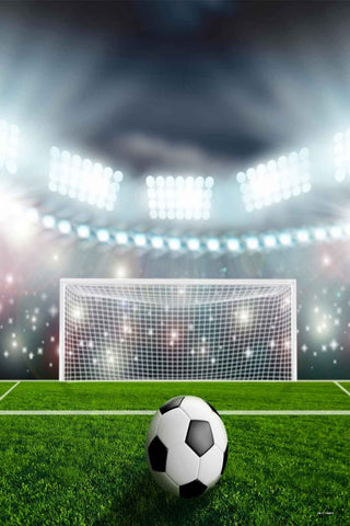 Sport Footable Field Goal Net Backdrops for Paty CM-S-1168-E