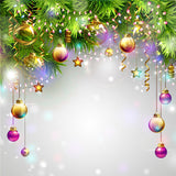 Colorful Xmas Lights Christmas Decoration Photography Backdrops DBD-19234