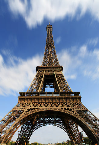Paris Eiffel Tower Blue Sky Backdrop for Photo Studio D122