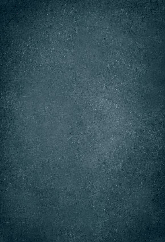 Blue Abstract Concrete Textured Backdrop for Photography D164