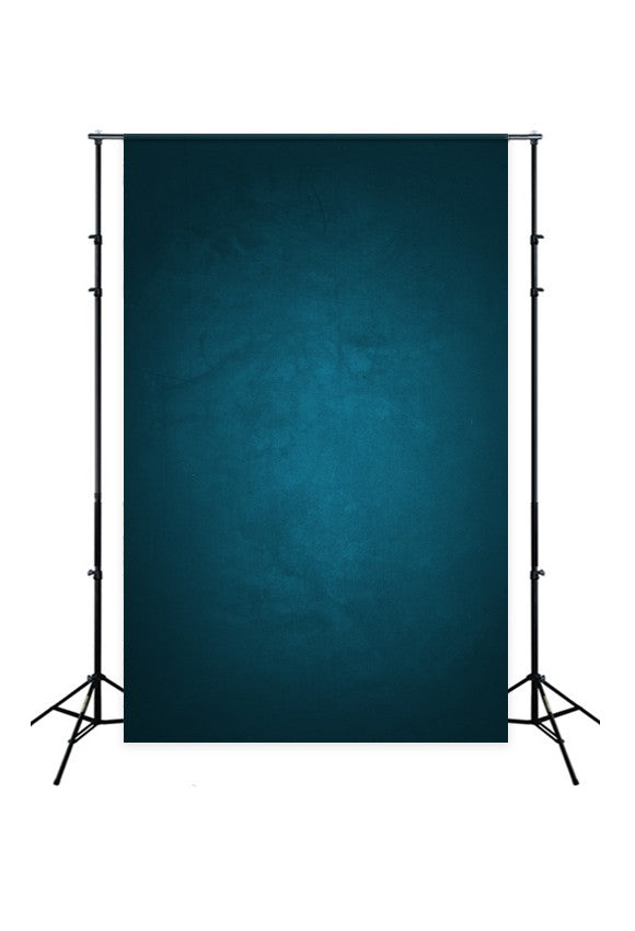 Abstarct Blue Gradient Textured Backdrop for Photography D165