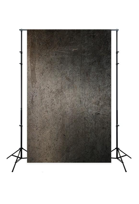 Black Abstract Grunge Wall Texture Photo Backdrop for Studio D185