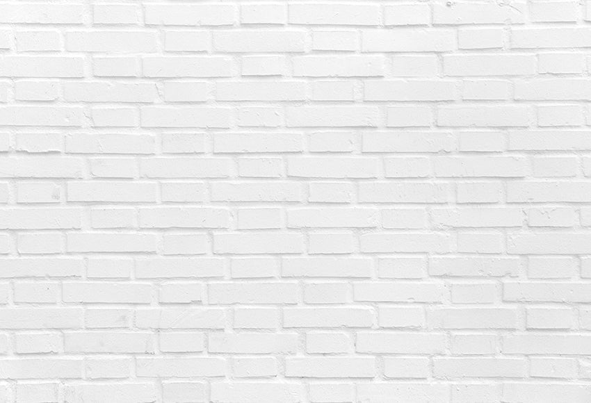 White Brick Wall Texture Photography Backdrops For Studio D349 Dbackdrop