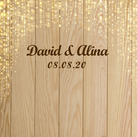 Custom Weeding Backdrop Personized Photo Booth Weeding Backdrop D522