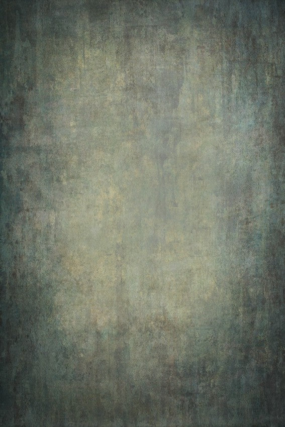 Blue Abstract Grunge Texture Portrait Photography Backdrop