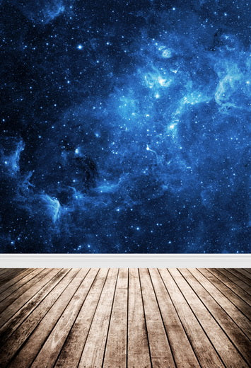 Space Universe Night Sky Twinkle  Stars Backdrop for Photo Studio F-101