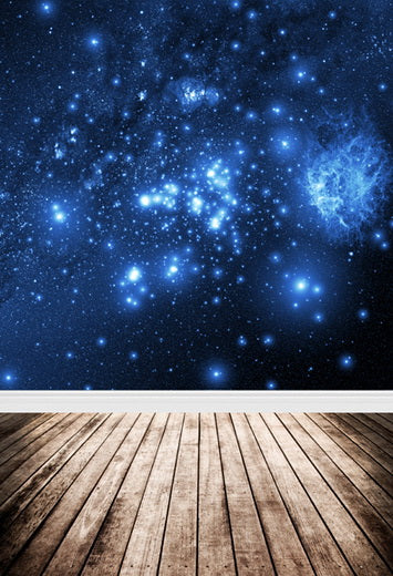 Universe Night Sky Starry  Stars Backdrop for Photo Studio F-102