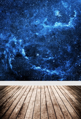 Night Sky Starry  Stars Universe Backdrop for Photo Studio F-103