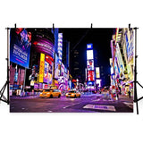 New York Night Times Square Photography Backdrop G-171