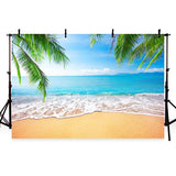Summer Sea Beach Scenic Photo Backdrops  G-229