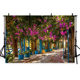 Patterned Backdrops Flower Backdrops Garden Backgrounds G-232