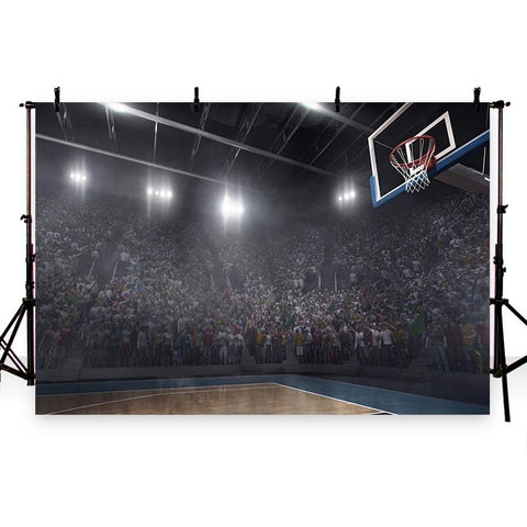 Basketball Sport Gym Backdrops for Photo Booth G-286
