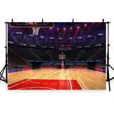 Basketball Court Backdrop for Sports Club Photography G-287