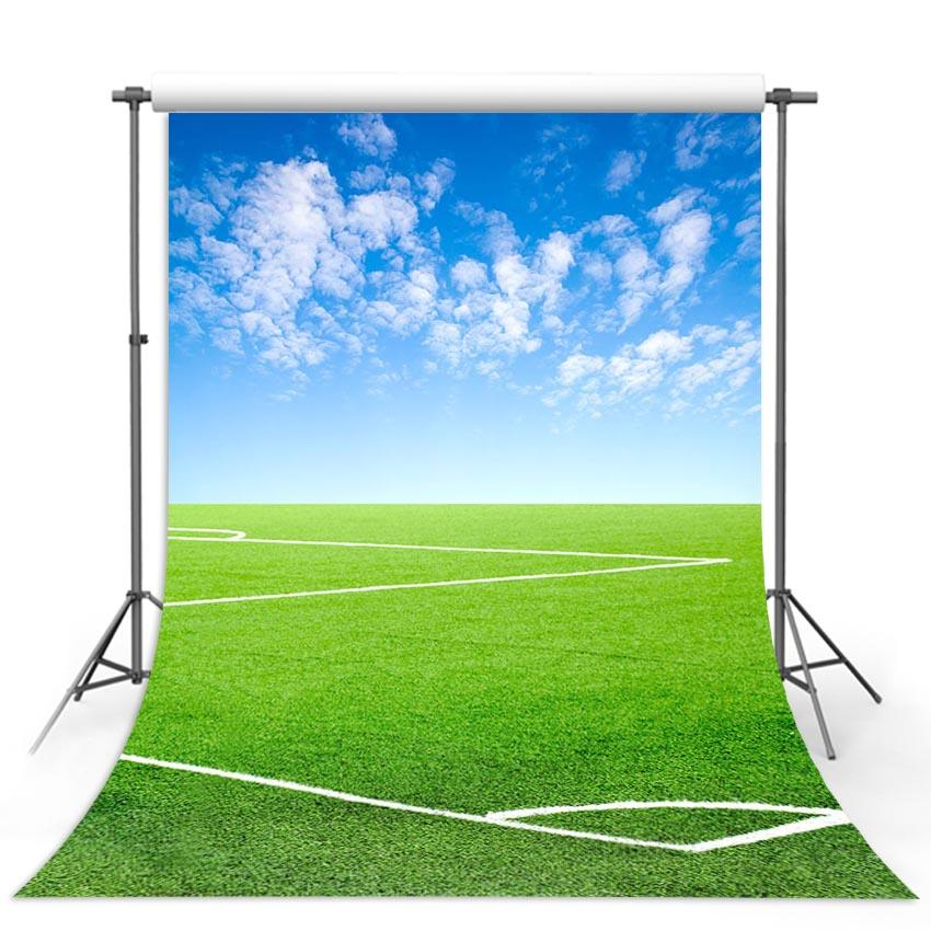 Green Lawn Footable Field Photography Backdrops G-298