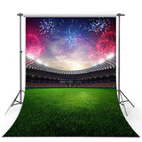 Soccer Backdrops Green Backdrop G-300-1