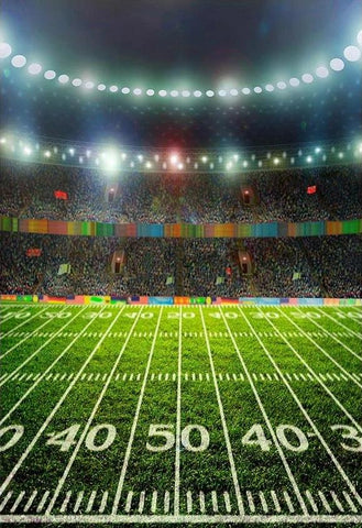 Photo Backdrop Football Field Sports Stadium Backdrops G-303