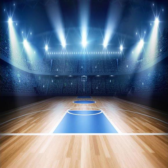 Basketball Court Sport Themed Photography Backdrops G-319