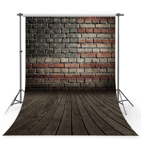 Backdrop Flag Backdrop American Backgrounds Brick Wall G-330