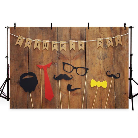 Father's Day Backdrop Wood Backdrop G-336