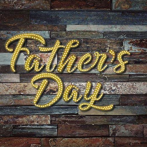 Father's Day Background Wood Backdrop G-339