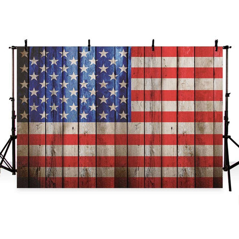 American Independence Day USA Flag Backdrop G-342