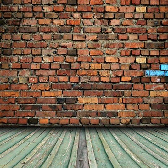 Grunge Brick Wall For Portrait Photography G-344