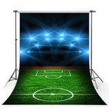 Soccer Backdrops Green Backdrops G-351