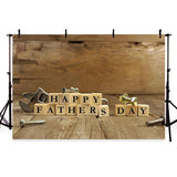 Father's Day Backgrounds Wood Backdrop G-387