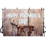 Father's Day Background Wood Backdrops G-388
