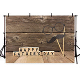 Father's Day Backdrop Wood Backdrops G-398