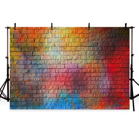 Graffiti Brick Wall Backdrops for Photo  G-422