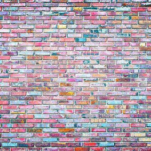Colorful Graffiti Brick Wall Backdrops Photography Backdrops G-423