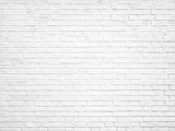 White Retro Style Brick Wall Backdrop for Party Photography G-45