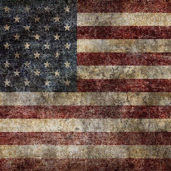 USA Flag Patriotic Independence Backdrops for Photos G-457
