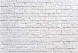 White Brick Wall  Photography Studio Backdrop  G-56